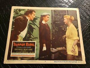 1956 MOVIE LOBBY CARD #4-2355 TEENAGE REBEL - GINGER ROGERS