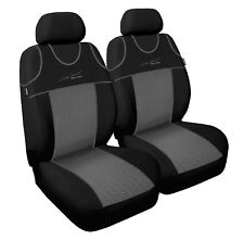 Front seat covers fit Mercedes 190 - VEST SHAPE (P1) VERLOUR