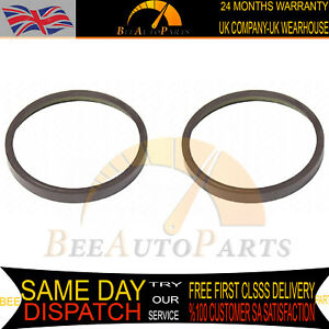 2x REAR DISCS ABS MAGNETIC PICKUP RING FOR CITROEN DS3 DS4 DS5