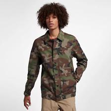 Nike Men'S Sb Dri-Fit Flex Camo Jacket Camouflage Size Medium New Quality Jacket