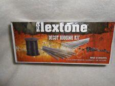 NIB Flextone Outdoor Decoy Rigging Kit For 12 Decoys Duck Hunting