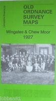 Old Ordnance Survey Maps Wingates Chew Moor near Westhoughton 1927 Sheet 94.03