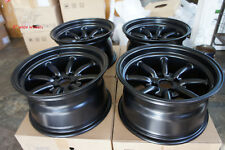 "JDM 15"" pcd100x4 Staggered wheels rims watanabe style Civic ctr Miata mx5 e30"