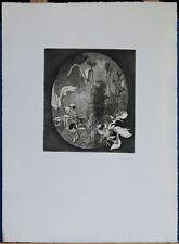 ANTONIETTA VIGONONE acquaforte S.T.  54x40 firmata numerata IX/XX la Spirale