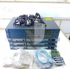 CISCO CCNA CCNP LAB KIT 2811 ROUTER 3560 SWITCH LATEST IOS 15.