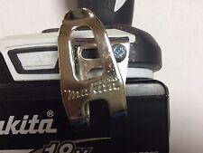Makita Compact 10.8 V 14.4 V 18 V GANCIO CLIP CINTURA DF332 DF331 DF032 DF031 TD110 LXT