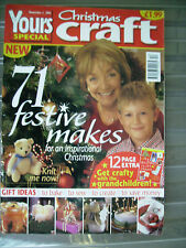 YOURS CHRISTMAS SPECIAL CHRISTMAS CRAFT MAGAZINE 71 FESTIVE MAKES