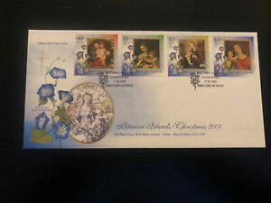 Pitcairn Islands 2003, FDC, Christmas, Excellent Condition
