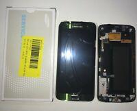 DISPLAY LCD + TOUCH SCREEN ORIGINALE SAMSUNG GALAXY S6 EDGE G925F SM-G925F VERDE