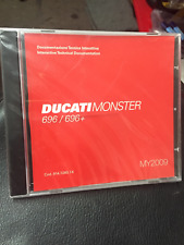 English//Italian 2001 Ducati 750 SS 91470251F factory workshop manual BRAND NEW
