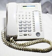 Panasonic Kx-T7730 Black Multiline Line Phone | Lcd Display | Speaker White