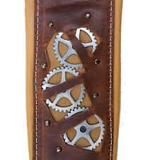COURROIE SANGLE GUITARE MINOTAUR STEAMPUNK BROWN GUITAR STRAP