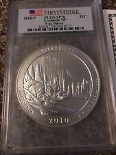 PCGS Yosemite National Parks SP70  5 Ounce Silver Quarter COA