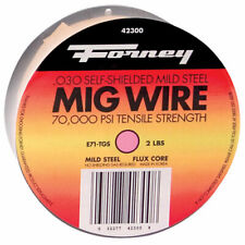 Forney  0.030 in. Mild Steel  Flux Cored Wire  70000 psi 2 lb.