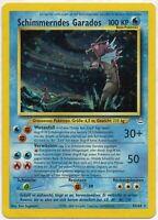 Pokemon Schimmerndes Garados Holo Neo Revelation 65/64 NM TCG#130 DE PP&FAST