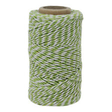 2mm 20 Yard Spool Choice of 16 Colours Bakers Twine 12 Ply
