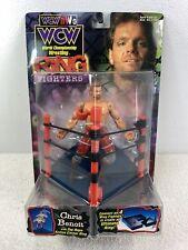 1999 ToyBiz WCW/NWO Wrestling Ring Fighters Chris Benoit Wrestler Action Figure