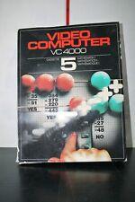 Video Computer VC 4000 3 Computer Cassette MATHEMATICS I Game BOXED