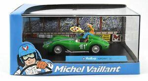 Michel Vaillant -Voiture de collection neuve-Sport E-Métal injecté-sous vitrine
