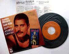 """FREDDIE MERCURY QUEEN - LOVE KILLS - METROPOLIS - 7"""" 1984 Japan"""