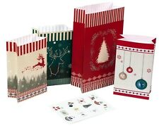 **ROTH*Weihnachten*Adventskalender*Nordic*Tüten*24tlg*zum befüllen*
