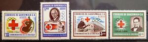 Guatemala stamps - The Red Cross and the Tokyo Olympics  - MNH_1964.