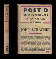 1941 Strachey POST D EXPERIENCES OF AN AIR RAID WARDEN Incendiaries LONDON BLITZ