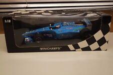 Minichamps  183000111 Benetton Playlife B200 Jenson Button  Jerez, Dec 2000 1:18