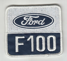 FORD F100 TRUCK EMBROIDERED PATCH