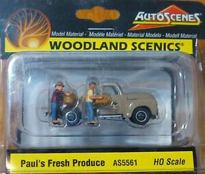 Woodland Scenics HO #5561 Paul's Fresh Produce