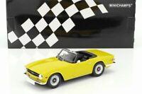 PROMO : TRIUMPH TR6 de 1973 RHD au 1/18 de Minichamps limited ed. 402 pcs