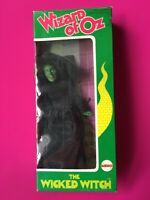 """MEGO Wicked Witch boxed Wizard Oz 8"""" black dress hat green figure 1975"""