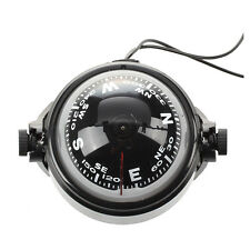 Pivoting Compass Dashboard Dash Mount Marine Boat Truck Car Black C3A1