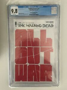 WALKING DEAD #115 CGC 9.8 Mega Box Exclusive Variant Cover