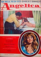 ANGELIQUE MARQUISE DES ANGES Italian 1F movie poster B MICHELE MERCIER HOSSEIN