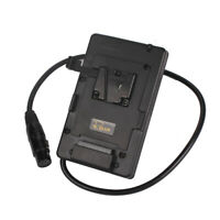V-mount BP Battery Plate 4-pin CANNON Input 4 Director Monitor Power Supply Dock