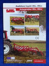 0351) SMS CZ Schargrubber RKx RKLx - Prospekt Brochure 2005 Tschechien