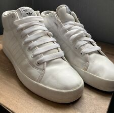 Mens Adidas Trainers White Size 8.5 UK High Tops 🔥🔥