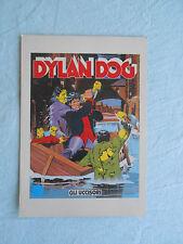 CARTOLINA/POSTCARD DYLAN DOG-n° 5-gli uccisori-sclavi/dell'uomo-fumetti-comics