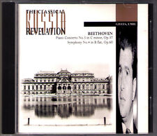 Emil GILELS: BEETHOVEN Piano Concerto 3 Symphony 4 David OISTRAKH KONDRASHIN CD