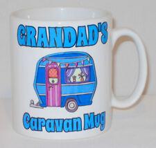 Grandad's Caravan Mug Can Personalise Camping Camper Van Granda Pop Gramps Gift