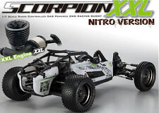 Kyosho 1/7 GP Scorpion XXL Buggy W/ PERFEX KT-201 transmitter White