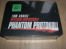 Mission Impossible Phantom Protokoll Metall-Box Tin Steelbook m. Zippo, T-Shirt