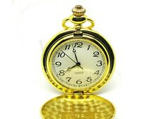 Pocket Watch: Gold Plated, Advertising, Vital Beauty, Quartz, Easy Read