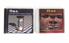 Lot (2) RAZ: Ain't Got Time to Make It Right; When You Fall in Love