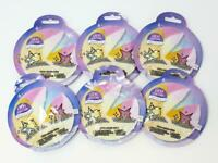 Lucky Fortune Wear Your Luck Keychain w/ Surprise Charm Blind Bag Lot of 6 NEW