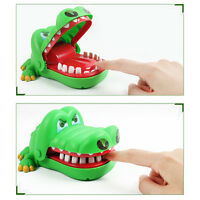 New Crocodile Mouth Dentist Bite Finger Teeth Game Toys Kids Funny Toy Children/