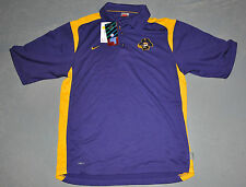 "NWT Nike® Mens ""EAST CAROLINA"" ECU Pirates Football FIT DRY Polo Shirt SMALL S"