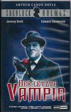 SHERLOCK HOLMES <DER LETZTE VAMPIER> JEREMY BRETT/ E. HARDWICKE  POLY BAND VHS