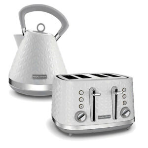 Kettle and Toaster Set White Cheap Sale Buy Kitchen Morphy Richards